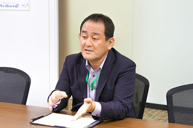 アップデータ株式会社 管理部長 山﨑 太一様