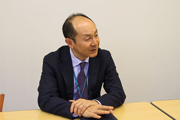 東洋システム開発株式会社 常務取締役 辻 輝夫様